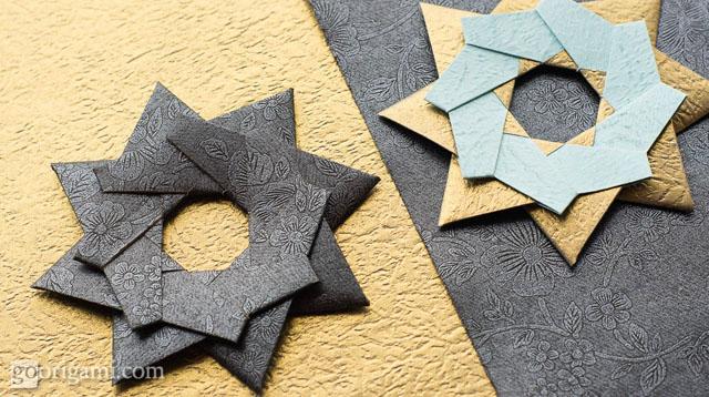 Robin Star by Maria Sinayskaya — Diagram | Book origami, Origami ... | 358x640